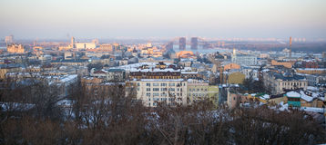 Kiev panorama Royalty Free Stock Photos