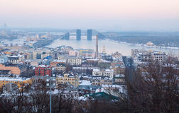 Kiev panorama Royalty Free Stock Photography