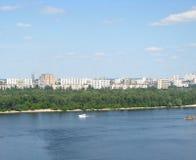 Kiev panorama Arkivbilder