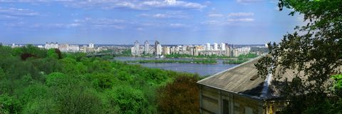 Kiev panorama Stock Photography