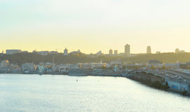 Kiev panorama Royalty Free Stock Images