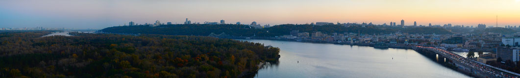 Kiev panorama Royalty Free Stock Image