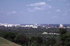 Kiev panoramic city view Stock Photo