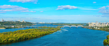 Kiev panoramic view, Ukraine Royalty Free Stock Photography