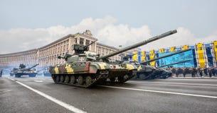 kiev parada wojskowa Obrazy Royalty Free