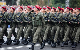 kiev parada wojskowa Zdjęcia Royalty Free
