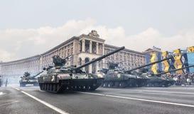 kiev parada wojskowa Zdjęcie Stock