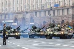 kiev parada wojskowa Obraz Royalty Free