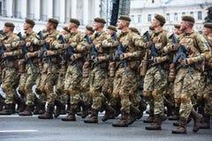kiev parada wojskowa Obrazy Stock