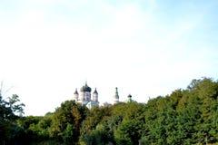 Kiev - Natalka Park on Obolon royalty free stock photo