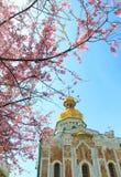 Kiev pechersk cathedral Stock Photography