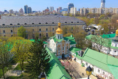 Kiev pechersk cathedral Stock Images