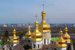 Kiev pechersk cathedral Royalty Free Stock Photography