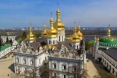 Kiev pechersk cathedral Stock Image