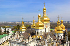 Kiev pechersk cathedral Royalty Free Stock Photo