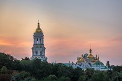 Kiev Pechersk Lavra stock afbeeldingen