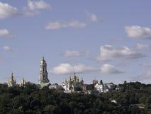 Kiev-Pechersk Lavra a Kiev fotografie stock libere da diritti