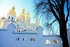 Kiev-Pechersk Lavra Stock Images