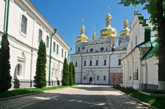 Kiev-Pechersk Lavra Stock Image