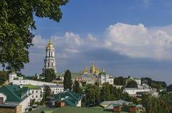 Kiev-Pechersk Lavra Royaltyfria Foton