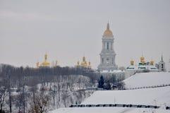 Kiev Pechersk Lavra Royalty-vrije Stock Afbeeldingen