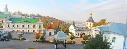 Kiev-Pechersk Lavra in autumn. Kyiv Stock Images