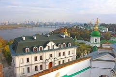 Kiev-Pechersk Lavra in autumn. Kyiv Stock Photo