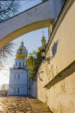Kiev-Pechersk Lavra in autumn Stock Image