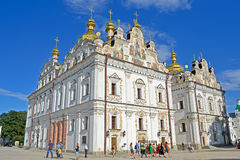 Kiev Pechersk Lavra, baeutiful cathedral, Stock Photography