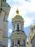 Kiev-Pechersk Lavra. Bell tower in Kiev-Pechersk Lavra Stock Photography