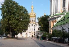 Kiev Pechersk Lavra, Cathedral of the Dormition Royalty Free Stock Images
