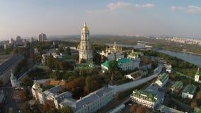 Kiev Pechersk Lavra, de Oekraïne stock footage