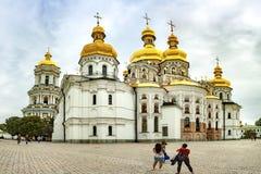 Kiev Pechersk Lavra of Kyiv Pechersk Lavra royalty-vrije stock afbeeldingen