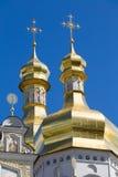 Kiev Pechersk Lavra. Or Kyiv Pechersk Lavra ( Kyievo-Pechers'ka lavra Royalty Free Stock Photography