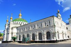 Kiev-Pechersk Lavra monastery Stock Photography