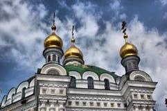 Kiev-Pechersk Lavra monastery in Kiev Stock Photos