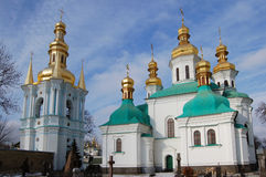 Kiev-Pechersk Lavra monastery in Kiev Stock Photos