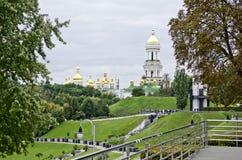 Kiev Pechersk Lavra Monastery Stock Image