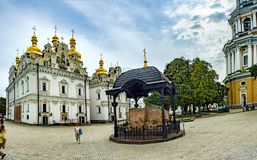 Kiev Pechersk Lavra o Kyiv Pechersk Lavra fotografía de archivo