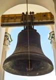 Kiev Pechersk Lavra och jätte- klocka på stora Lavra Bell Tower, Kiev Ukraina Royaltyfria Foton