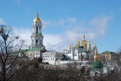 Kiev Pechersk Lavra. Orthodox Church. stock photography