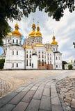 Kiev Pechersk Lavra Orthodox Church fotografia de stock