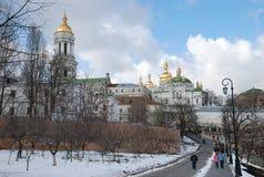 Kiev Pechersk Lavra. Orthodox Church. royalty free stock images
