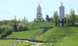 Kiev Pechersk Lavra Orthodox monastery Stock Photos