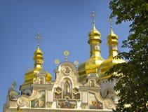 Kiev-Pechersk Lavra. Orthodox monastery of the Kiev-Pechersk Lavra in Kiev, Ukraine Stock Photo