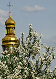 Kiev Pechersk Lavra ou Kyiv Pechersk Lavra, ressort Image libre de droits