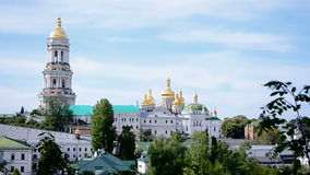 Kiev Pechersk Lavra, religion diversity, stock video footage