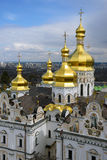 Kiev-Pechersk Lavra at spring Stock Images