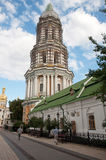 Kiev Pechersk Lavra, stora Lavra Bell Tower Royaltyfri Fotografi