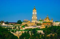 Kiev-Pechersk Lavra. At sunrise Royalty Free Stock Image